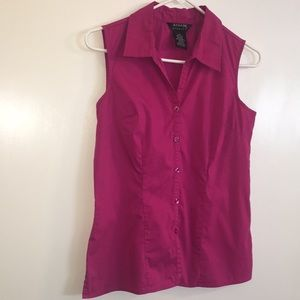 Gegrge stretch women's button up size small